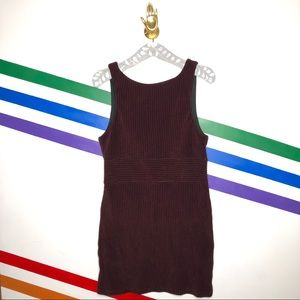 NEW Free People Maroon corduroy Mini Dress